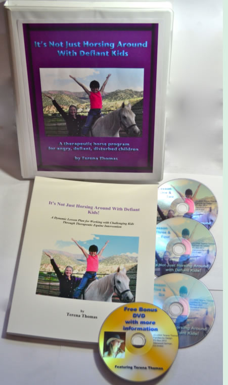 Its Not Just Horsing Around with Defiant Kids DVD Set